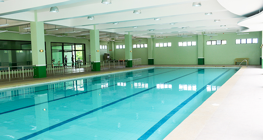 Lap pool at the OLFU Athletic Center