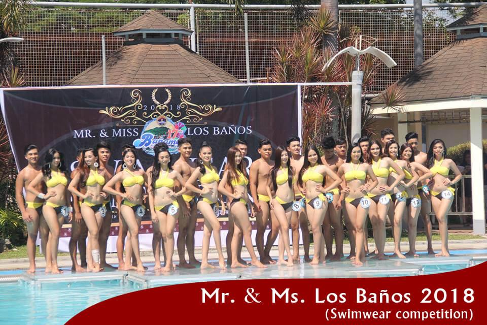 Mr. & Ms Los. Baños Swimwear Competition