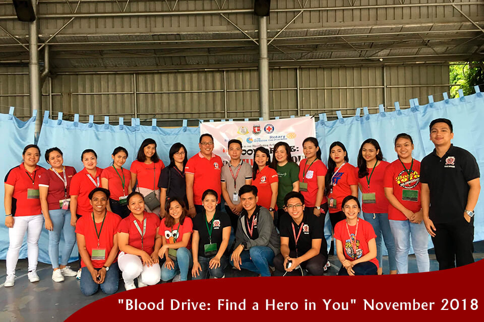 """""""Blood Drive: Find a Hero in You"""""""