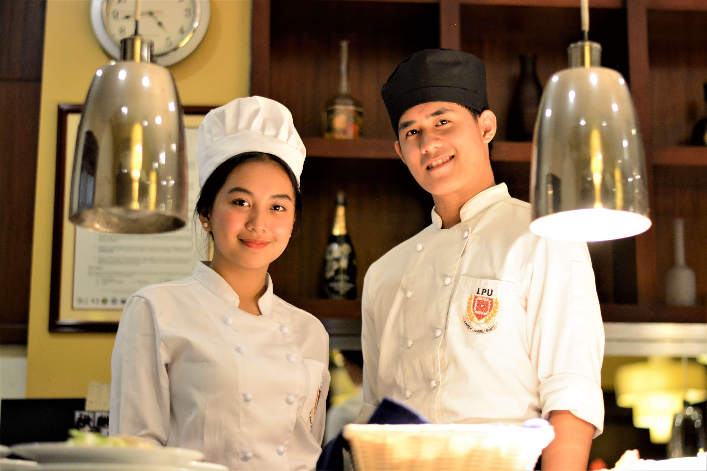 LPU Culinary Arts Students