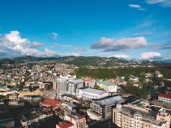 University of Baguio Aerial View