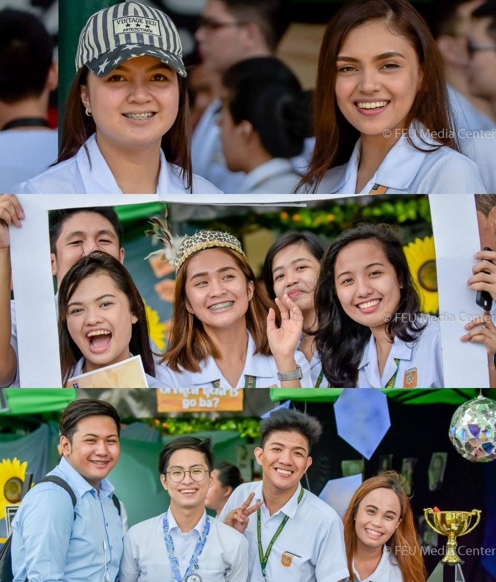 Students of FEU Manila