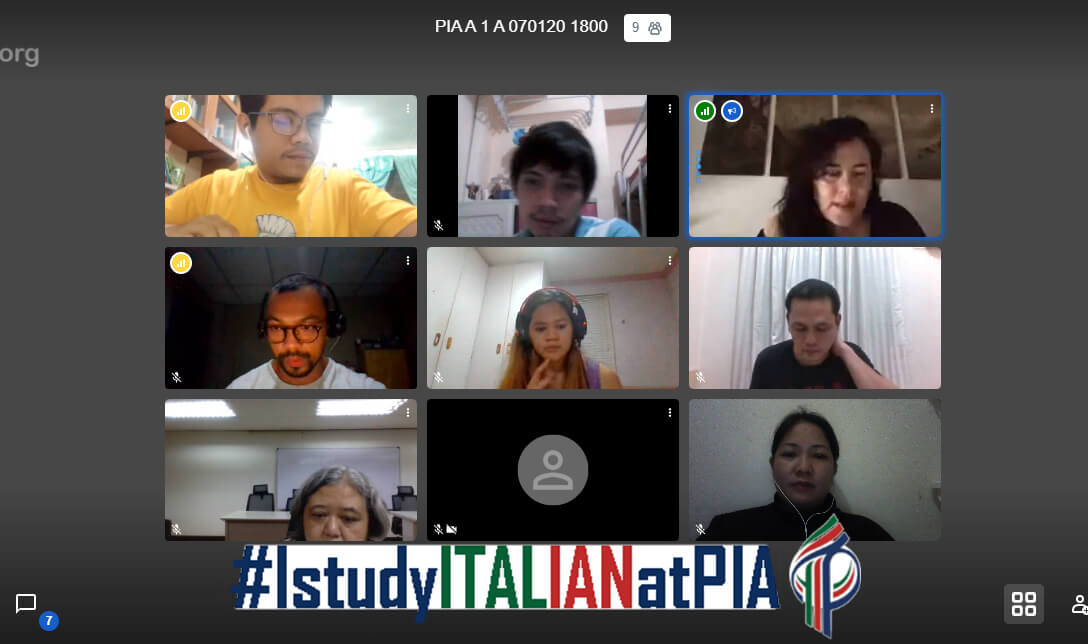 Italian language ONLINE