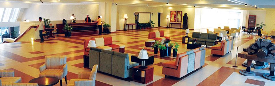 Lobby with Art