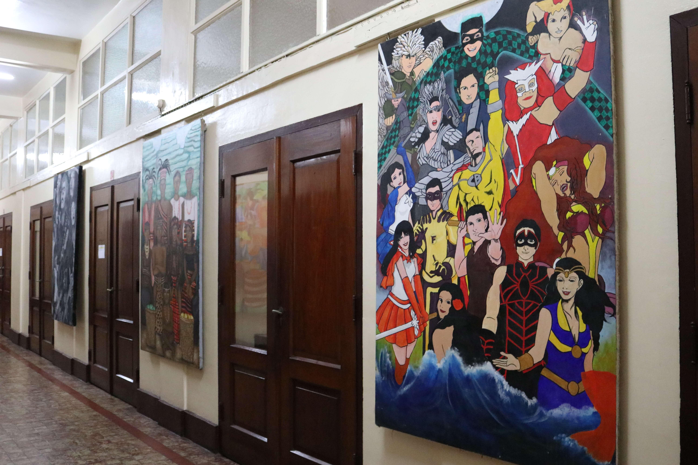 Fine Arts Lobby